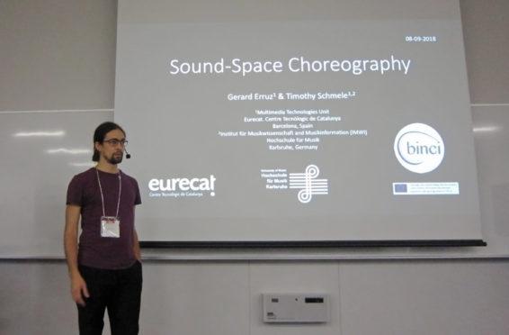 AES paper presentation choreographer BINCI